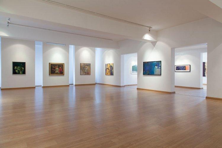 من داخل المتحف الوطني للفنون الجميلة بالجزائر
