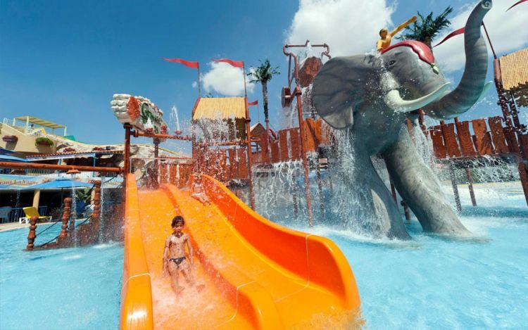 قرطاج لاند الألعاب المائية