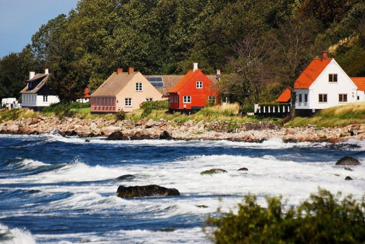 جزيرة بورنهولم بالدنمارك