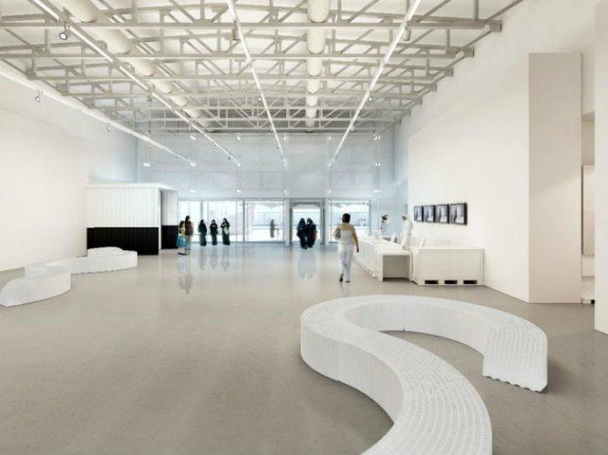 تصميم المتحف الداخلي والخارجي