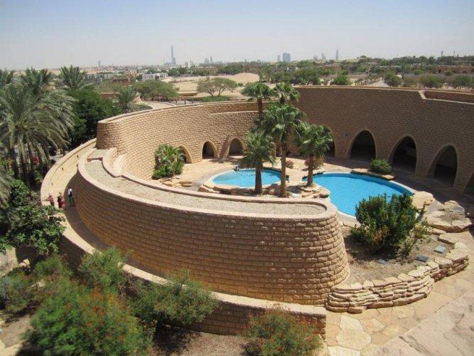 قصر طويق في الرياض