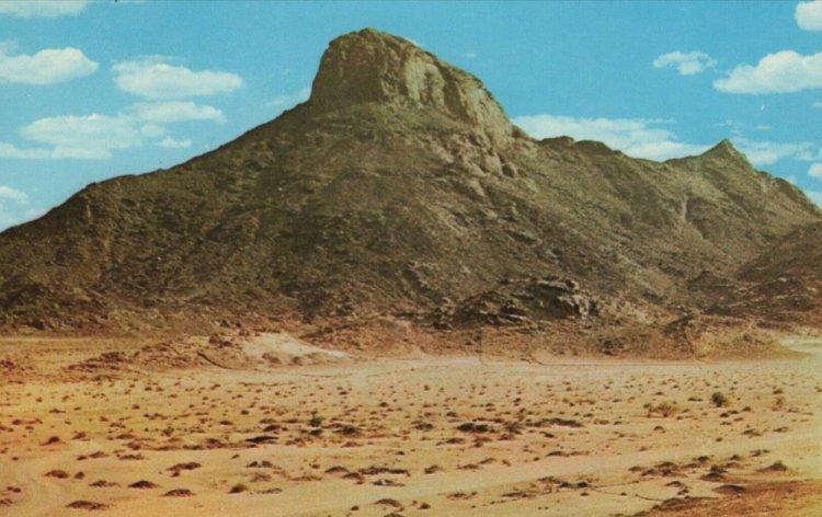 جبل النور الذي يضم غار حراء