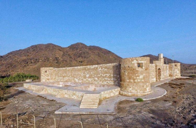 محطة أستراحة الحجاج أثناء سفرهم للحج في قلعة الزريب