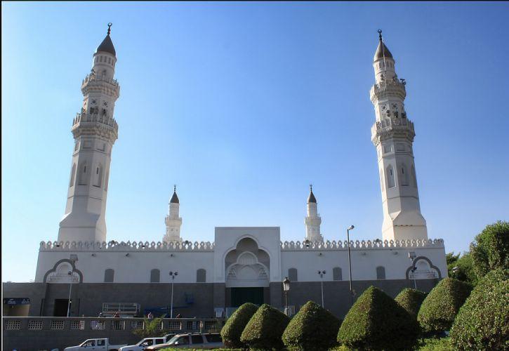 مسجد قباء المدينة المنورة
