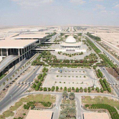 مطار الملك فهد الدولي في السعودية