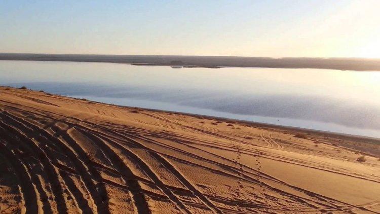 بحيرة العوشزية Lake Al Oushzih في عنيزة