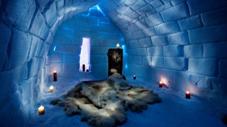 الغرف الجليدية في إقليم لابلاند