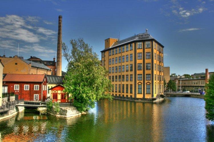 مدينة جونكوبينج في السويد
