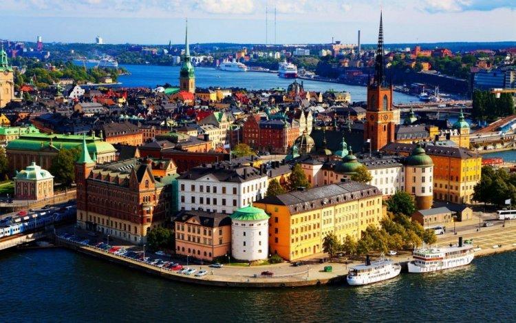 مدينة سكونة في السويد