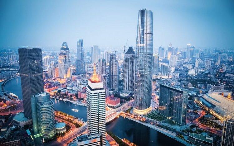 مدينة تيانجين الرائعة في الصين