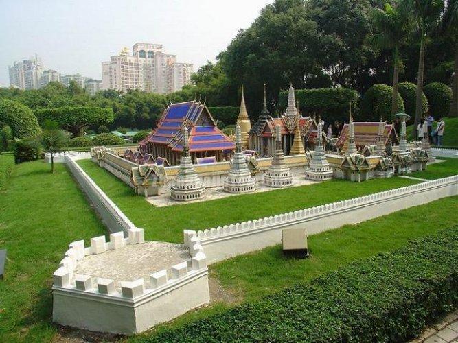 حديقة خريطة الصين في شنزن