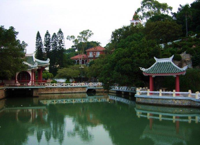 حديقة شوذانغ في جزيرة قولانغيو