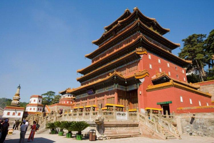 واجهة معبد يونينغ