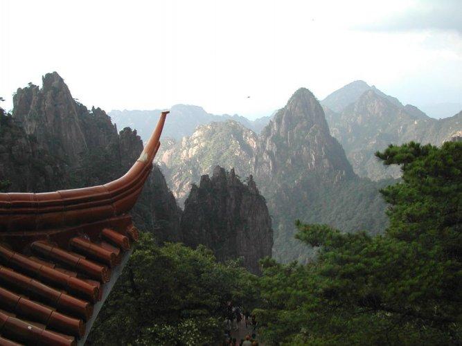 جبل هوانغشان في الصين