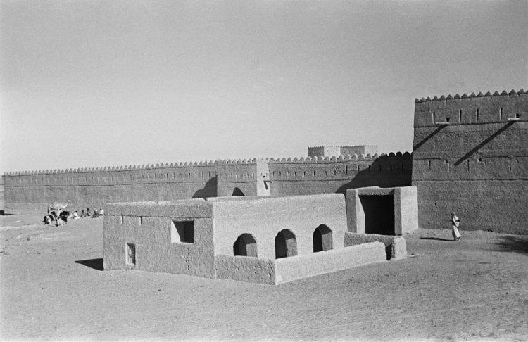 صورة لقصر المويجعي قديما
