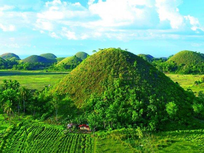 التلال الخضراء باتانيس