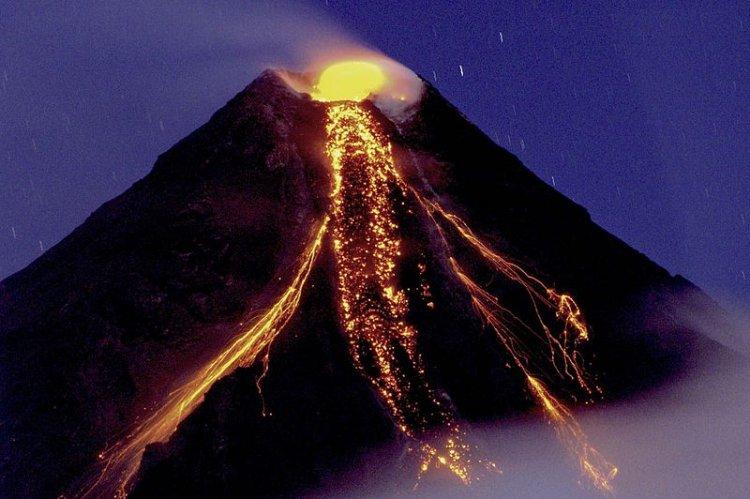 بركان مايون النشط