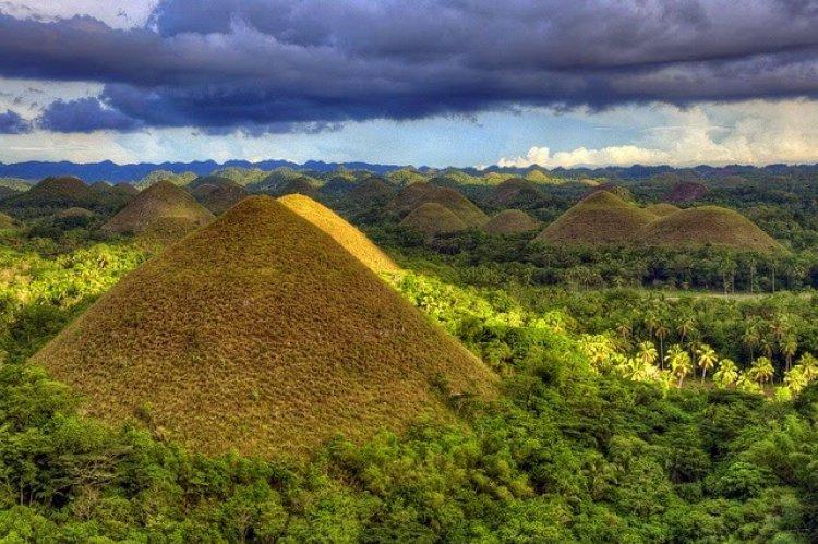 مرتفعات بوهول في الفلبين