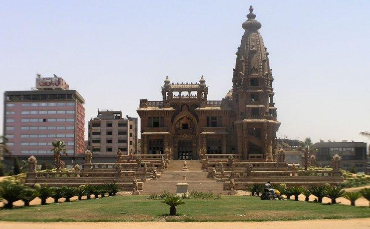 قصر البارون في القاهرة بمصر