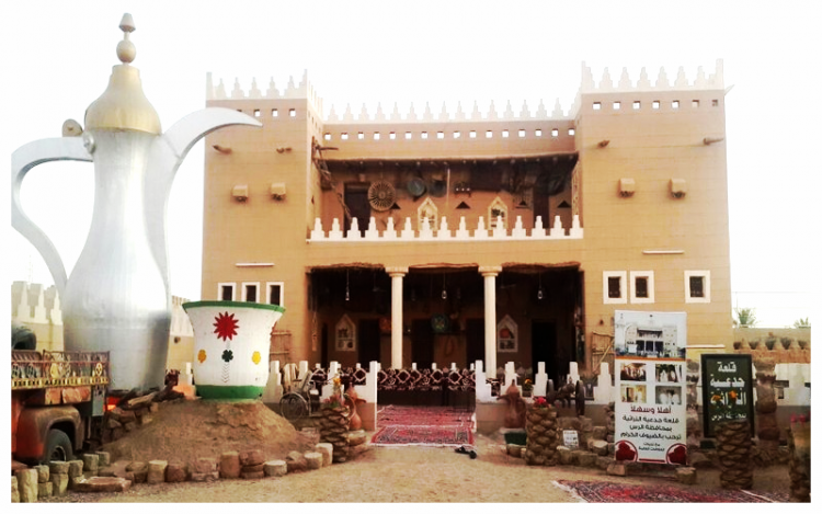 قلعة جدعية التراثية في الرس القصيم