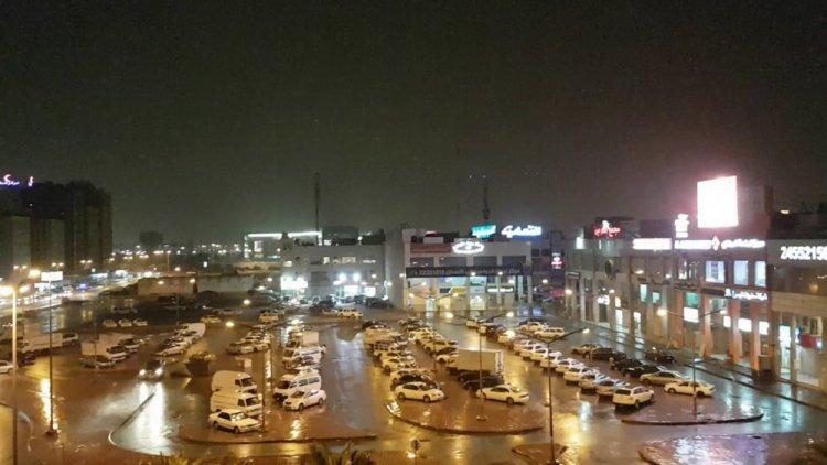 لقطة ليلية للجهراء الكويت