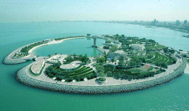 الجزيرة الخضراء في الكويت