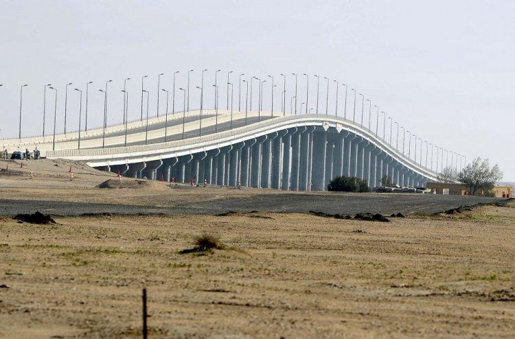 جسر بوبيان في الكويت