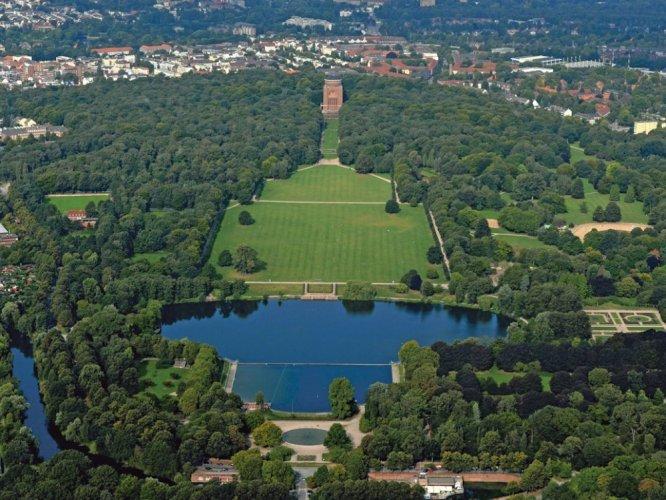 حديقة المدينة شتادت بارك هامبورغ