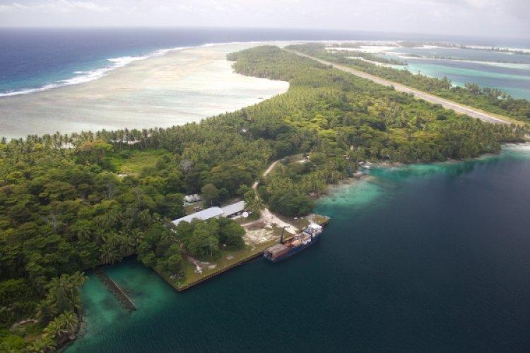 جزر بالميرا من الجزر النظيفة والضحلة والشفافة