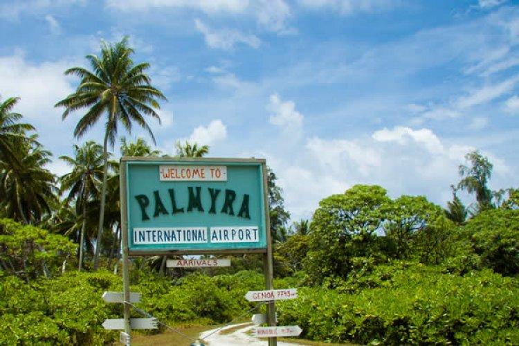 جزر بالميرا المرجانية هي منطقة محمية