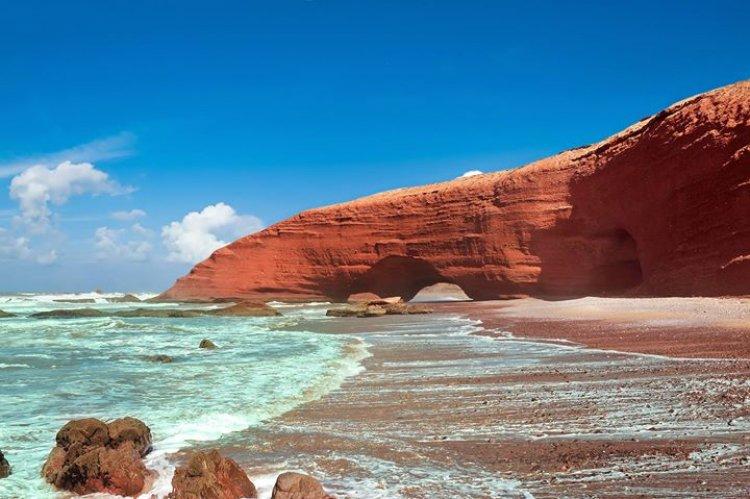 شاطئ لكزيرة