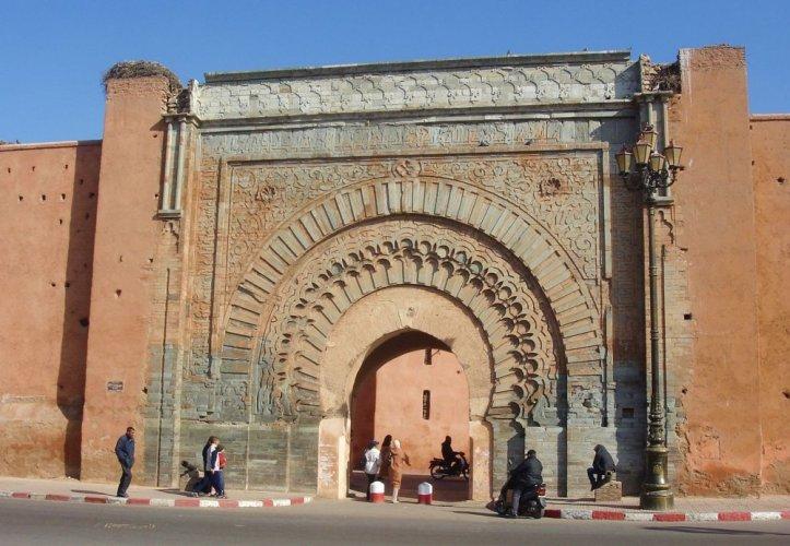باب أكناو في مراكش المغرب