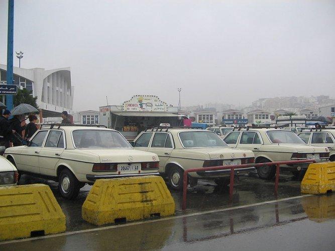 التاكسي الكبير في المغرب