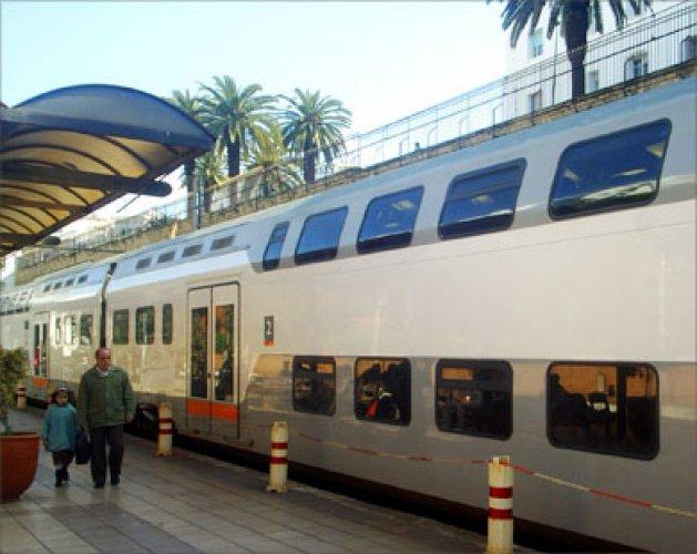 القطارات في المغرب