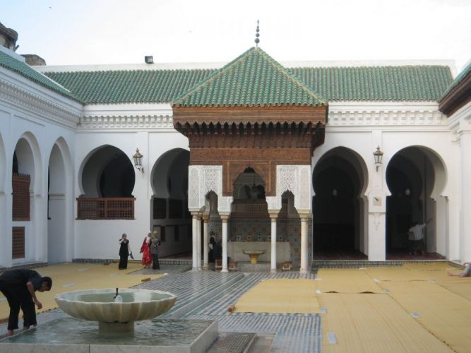 جامع القرويين في فاس