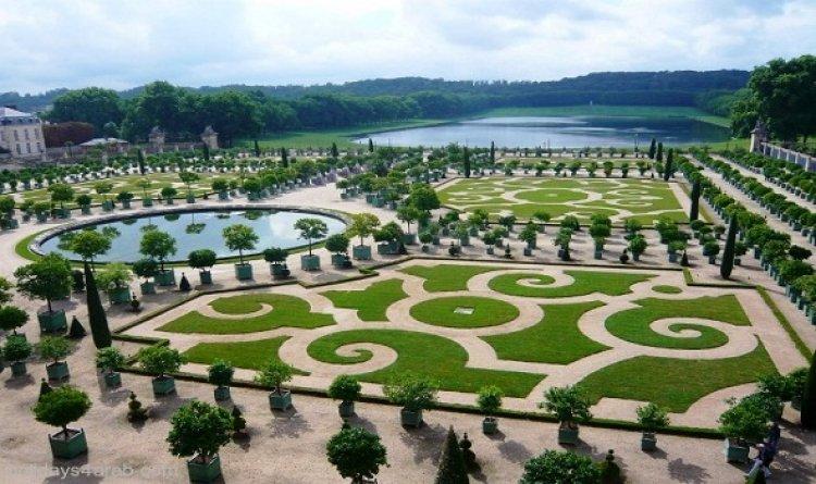 حدائق أكدال في مراكش بالمغرب