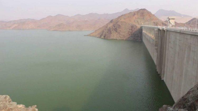 سد وادي حلي محافظة القنفذة