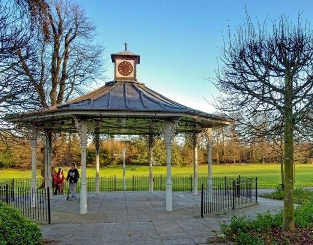 حديقة الحرب التذكارية في مدينة بازينغستوك البريطانية