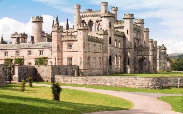 قلعة وحدائق لوثير