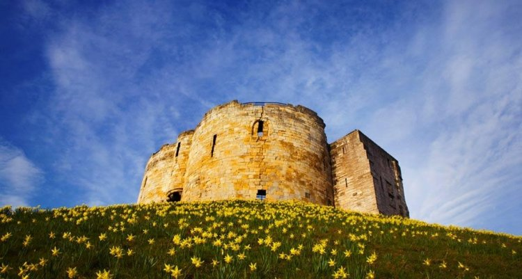 قلعة مدينة يورك في انجلترا