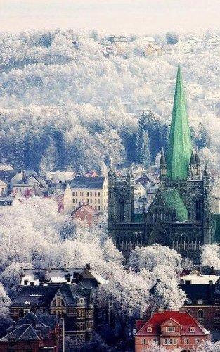 تروندهايم احد مدن النرويج السياحية الهامة