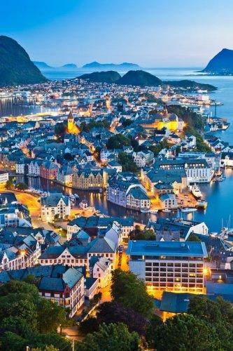 مدينة اوليسوند بالنرويج