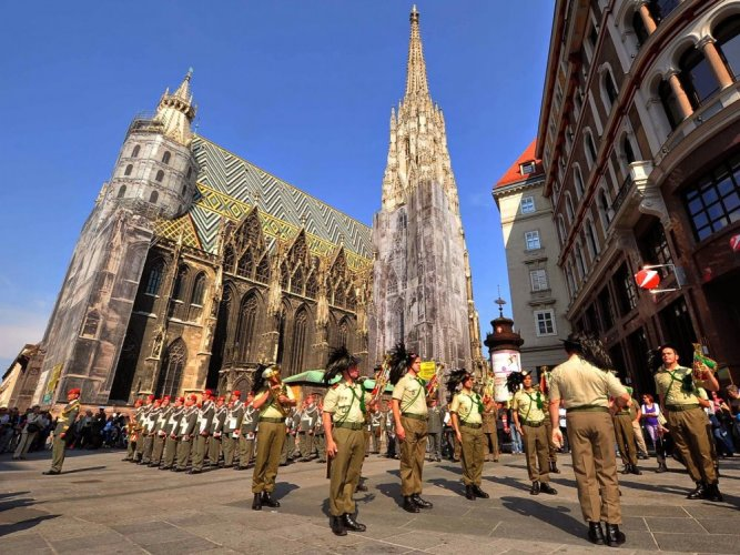 كاتدرائية ستيفانز في النمسا