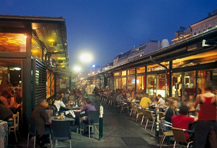 المطاعم في سوق ناشماركت