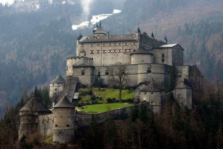 قلعة هوهن سالزبورغ في النمسا