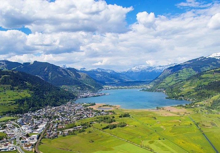الجبال والمشاهد الطبيعية في المنطقة