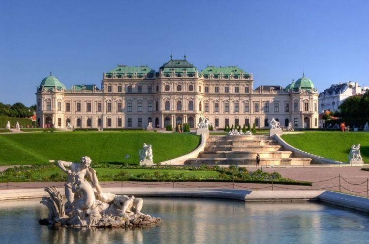 قصر البلفيدير في فيينا - النمسا