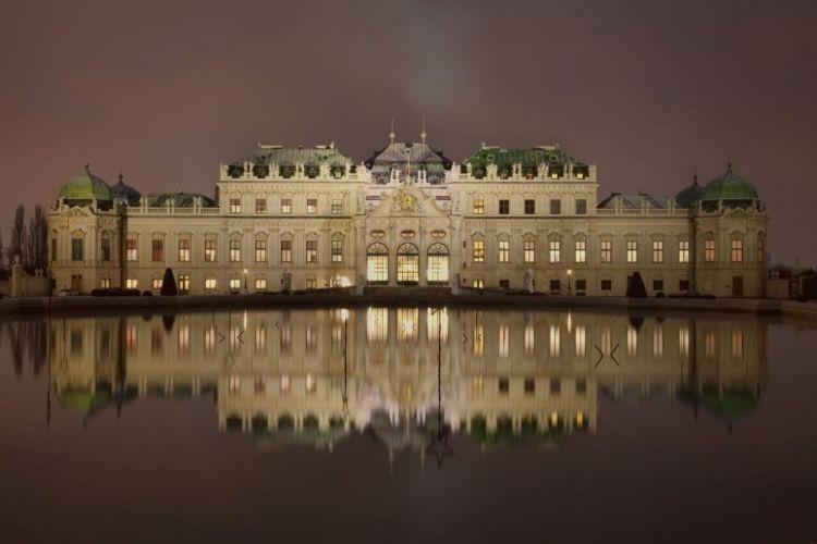 قصر البلفيدير - Belvedere في فيينا - النمسا