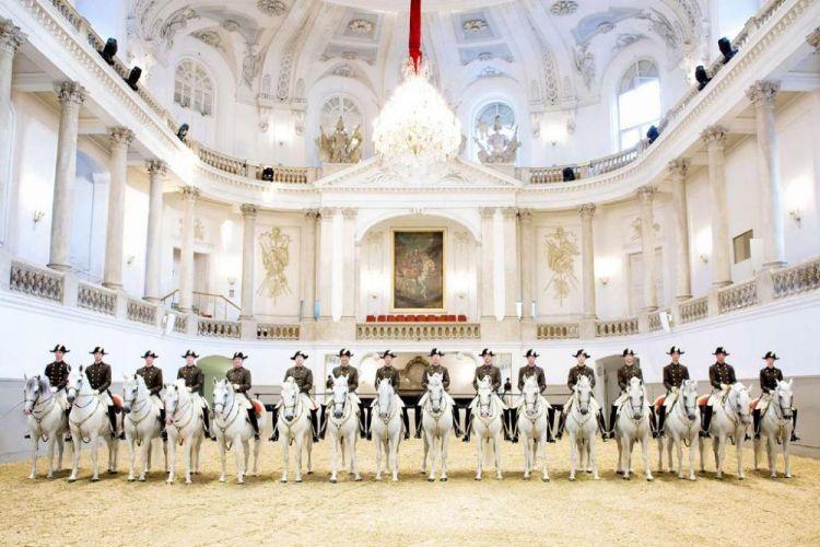 مدرسة الفروسية الملكيةفي فيينا - النمسا