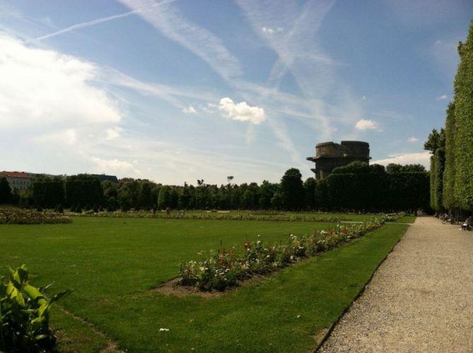 الحدائق الفرنسية المنحوتة في فيينا